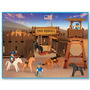 Playmobil Fuerte Fort Randall Original Antex Navidad Papa No