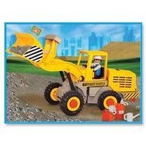 Playmobil Tractor Pala De Carga Original Antex