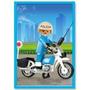Playmobil Con Moto Policia