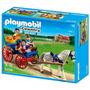 Playmobil Carrueaje Con Caballos Xml 5226