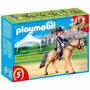 Playmobil 5111 - Caballo De Carreras Y Jinete