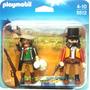 Playmobil Original 5512 Ladron Bandido Y Sheriff En La Plata