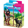 Playmobil Special 5408 Caballero Del Lobo !