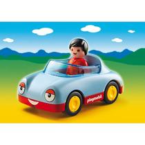 Playmobil Auto Convertible Descapotable Línea 1.2.3 - 6790