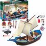 Barco Playmobil 5140 Cañon Muñecos Original Casa Valente