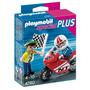 Playmobil Niño Con Moto De Carre Art 4780 Con Accesorios