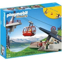 Playmobil 5426 Teleferico De Los Alpes