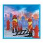 Playmobil Bomberos Con 2 Muñecos Y Accesorios Original Antex