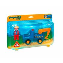 Playmobil 1 2 3 Grua