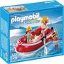 Playmobil 5439 Nadadores Con Balsa -palermo -envíos
