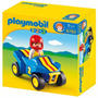 Playmobil 123 - 6782 Buggy Auto Carreras + Muñe - Children