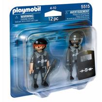 Educando Playmobil Duo Pack Policias 5515 Dramatización Nene