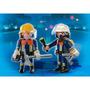 Muñeco Playmobil Duo Pack Bomberos - Art 4914