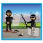 Playmobil Policia Con 2 Muñecos Y Accesorios Original Antex
