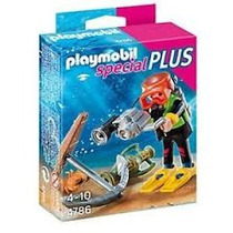 Playmobil Special Plus Submarinista Del Tesoro Art. 4786