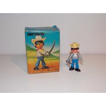 Muñeco Super Charly Soldado Confederados Dulcop 1979