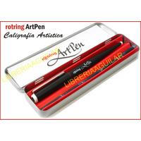 Art Pen Rotring Plumas Caligrafía Dibujo Artístico 8 Trazos