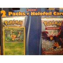 2 Packs De Cartas Pokemon + 1 Holofoil Card Pansange