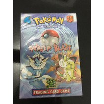 Water Blast Pokemon Tcg Mazo Vaporeon Theme Deck Cartas