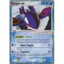 Cartas Pokemon Kyogre Ex Holo Foil Mint