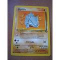 Rhyhorn Pokemon En Castellano Jungla Coleccion N° 61/64