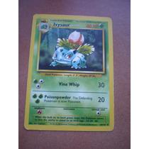 Ivysaur Carta Pokemon Rombo