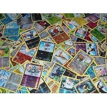 Cartas Pokemon Reverse 100 Cartas Brillantes