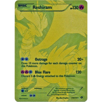 Cartas Pokemon Reshiram Full Art Secret Mint