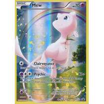 Cartas Pokemon Mew Mythical Holo Foil Full Art Mint