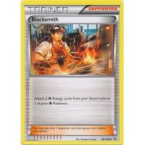 Cartas Pokemon Trainer Blacksmith No Foil Mint