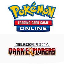 Oferta 10 Códigos Pokémon Tcgonline Packs B&w Dark Explorers