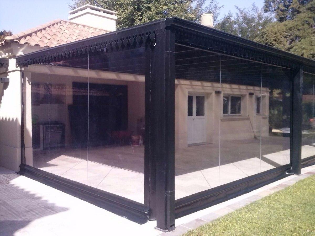 Pin cerramientos techos corredizos toldos on pinterest for Toldos para patios interiores