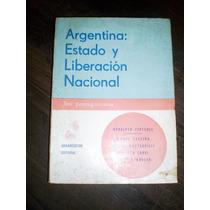 Roberto Carri Argentina Estado Y Liberacion Nacional
