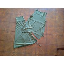 Conjunto De Pollera Y Blusa Importada Marca Ms