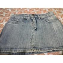 Minifalda De Jean