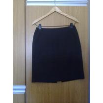 Pollera Color Negra De Vestir - Talle M