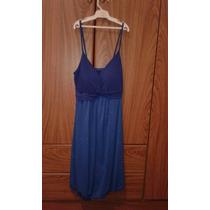 Oferta Vestido Informa Azul Francia Acampanado Mujer Hermoso