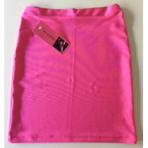Minifaldas Básicas 100% Lycra
