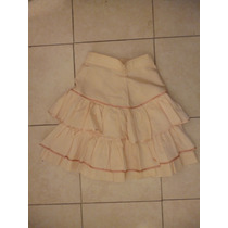 Minifalda Con Tablas