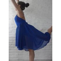 Vestido Pollera Baile Clasico Danza Gasa (c/ Malla Interior)