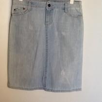 Pollera Jeans Zara Basic