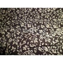 Pollera Larga Negra Con Flores Talle 2