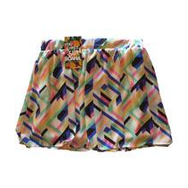 Minifalda Estampada Flúo - Envio Gratis !