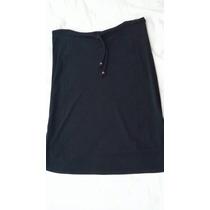 Sanz Doute-falda Forrada Con Tajos Laterales-s-impecable!!!!