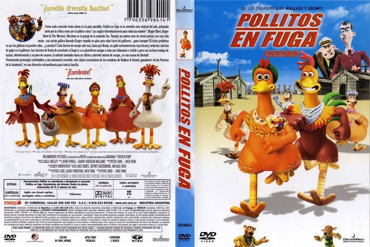 Pollitos en Fuga Dvd Original
