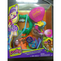 Polly Pocket Safari Aventura En Globo - Original Mattel