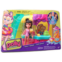 Cafe Splash Con Muñeca ! Polly Pocket - Minijuegosnet