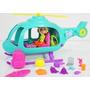 Polly Pocket Con Helicóptero. Set. Muñeca Polly. Original.