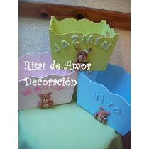 Cajas Decoradas, Carteles Bienvenida, Deco Cuartos Infantil