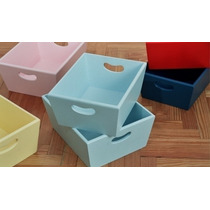 Caja Organizadora Bebe Laqueada,portacosmeticos,pañalera